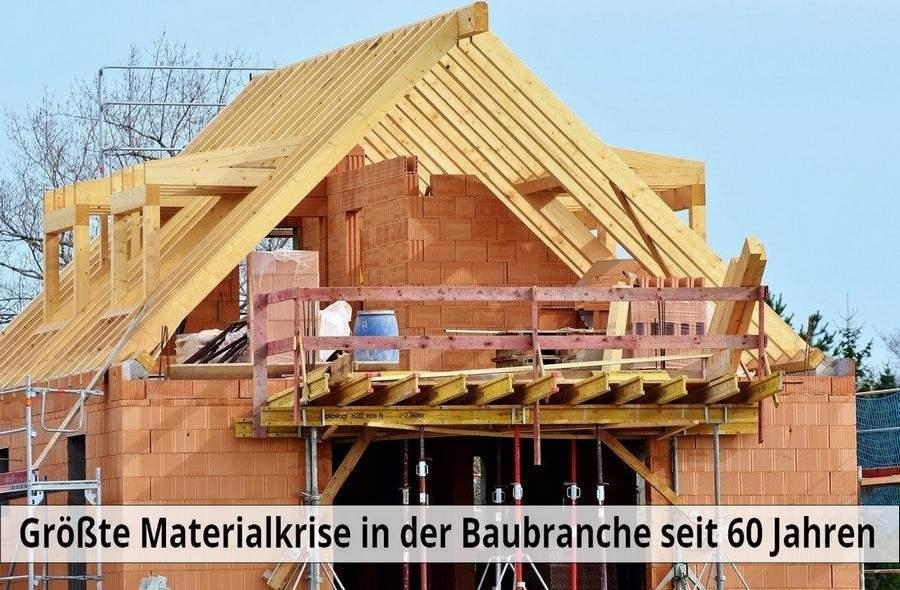 Mai 2021: Größte Materialknappheit in der Baubranche seit 60 Jahren