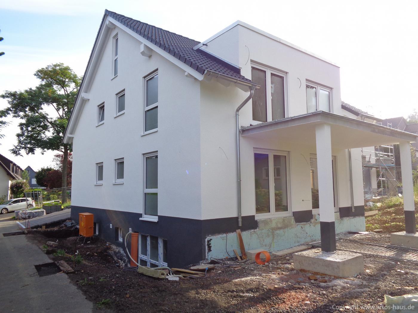 Zweifamilienhaus Bauvorhaben ARTOS HAUS Aussenansicht Bild 2