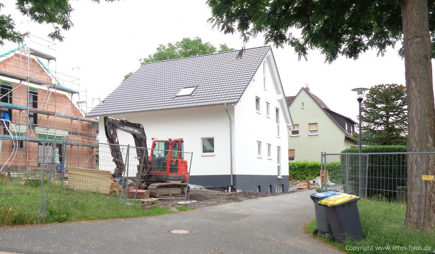 Zweifamilienhaus Bauvorhaben ARTOS HAUS Aussenansicht