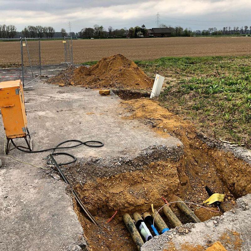 Baustelle Dormagen Juni 2021 Bild 4