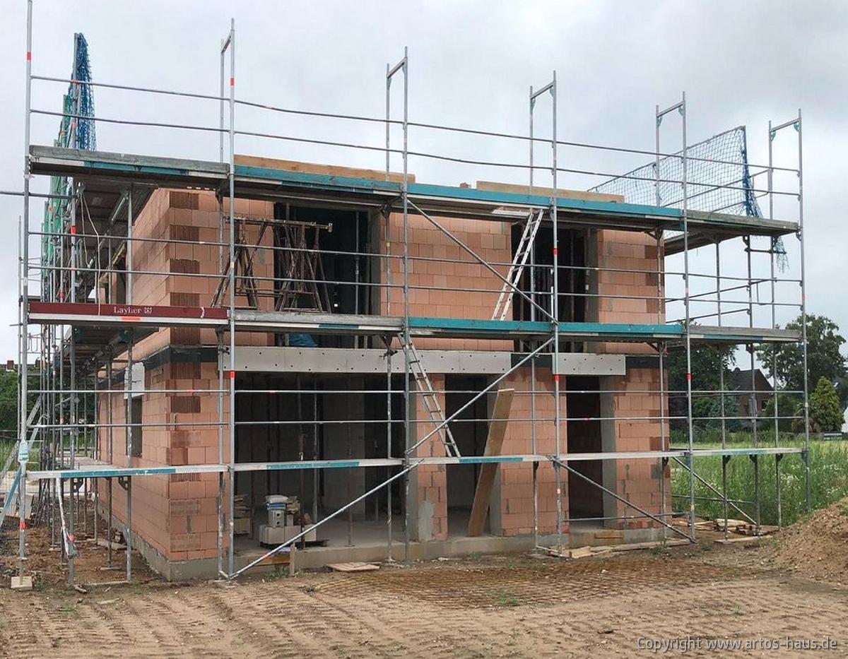 Rphbau im OG. Bauvorhaben Dormagen ARTOS-HAUS Juli 2021 Bild 3