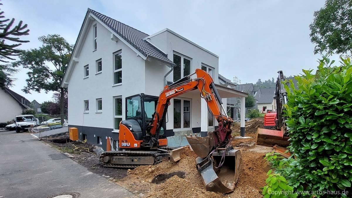 Artos Bauvorhaben Stand 9/2021 Aussenansicht