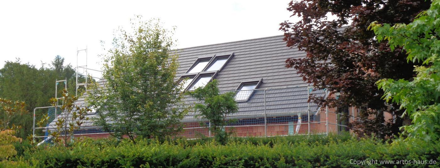 Dacheindeckung Juli 2021 ein ARTOS-HAUS Bauvorhaben Bild 4