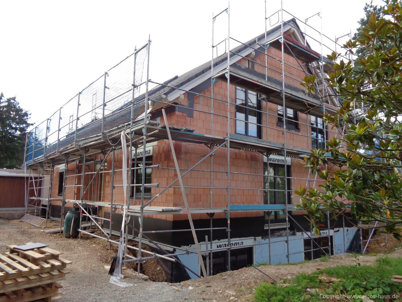 Dacheindeckung Juli 2021 ein ARTOS-HAUS Bauvorhaben Bild 3