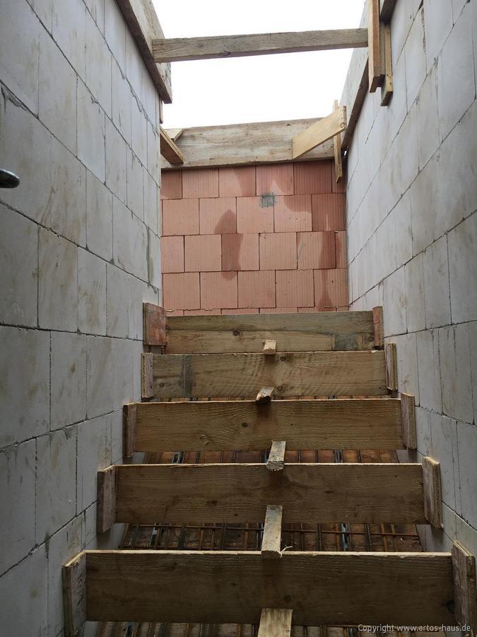 Schalung Treppe
