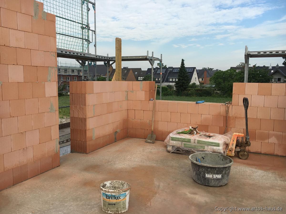 Rphbau im OG. Bauvorhaben Dormagen ARTOS-HAUS Juli 2021 Bild 1