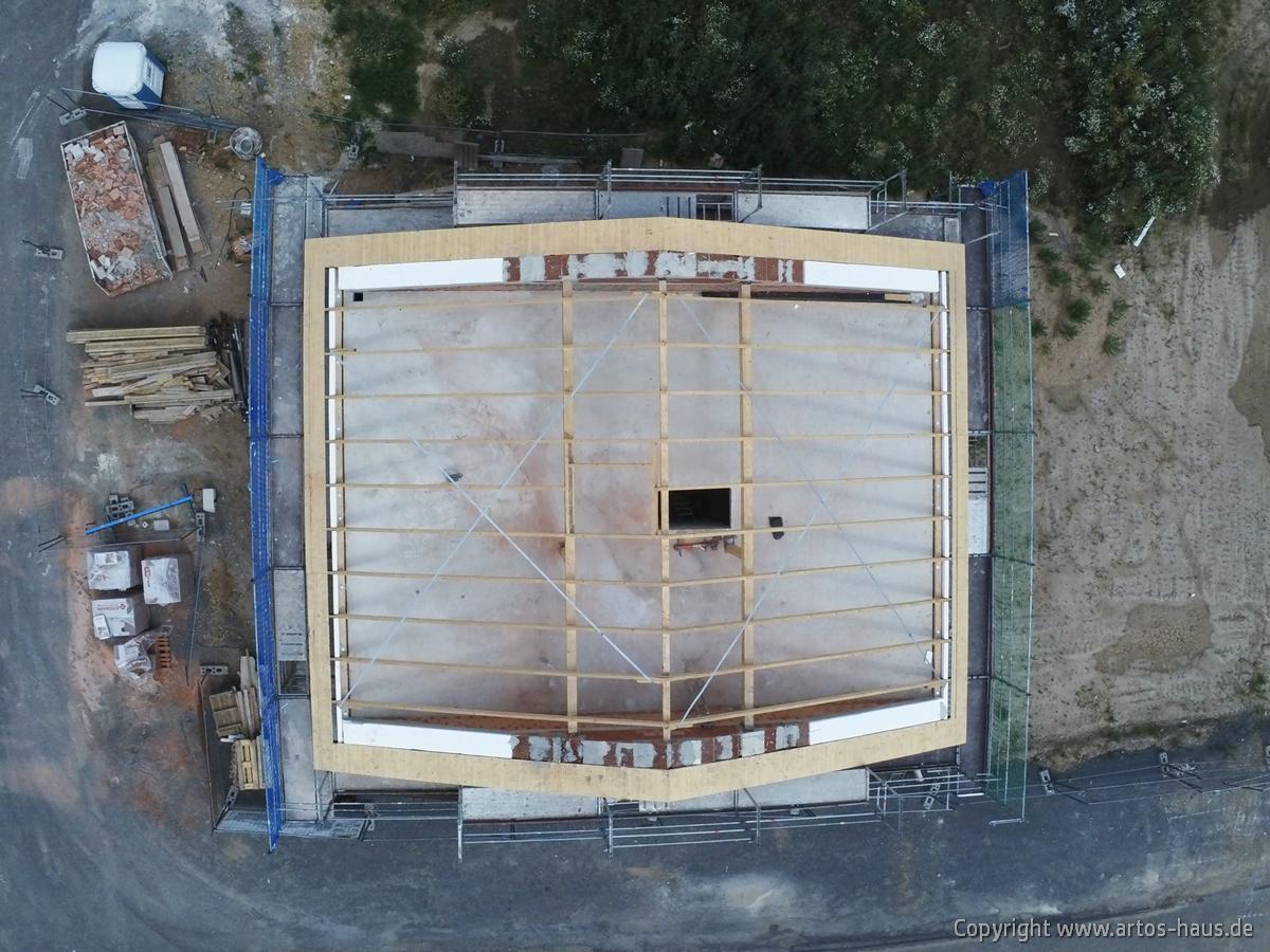 Luftbild der Baustelle Dormagen. ARTOS HAUS Juli 2021 Bild 2