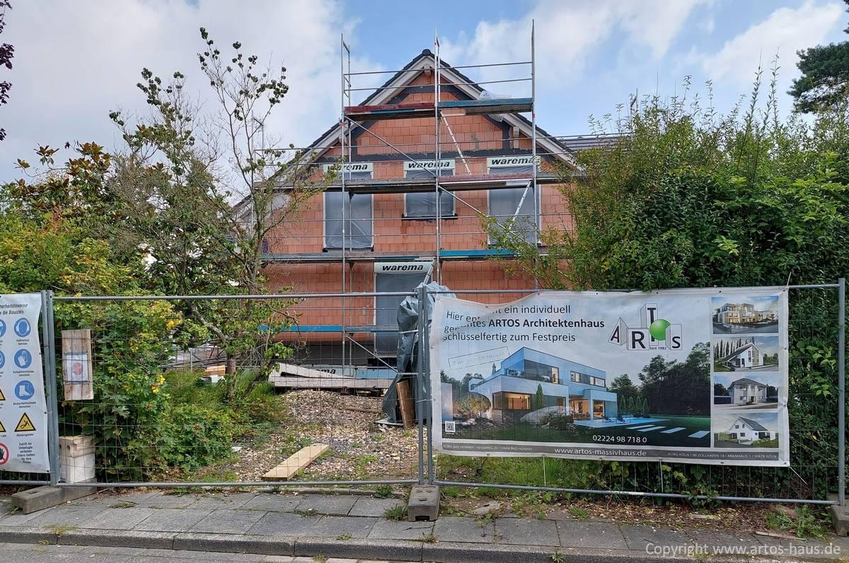 Artos Bauvorhaben in Bonn, Rohbaustatus September 2021