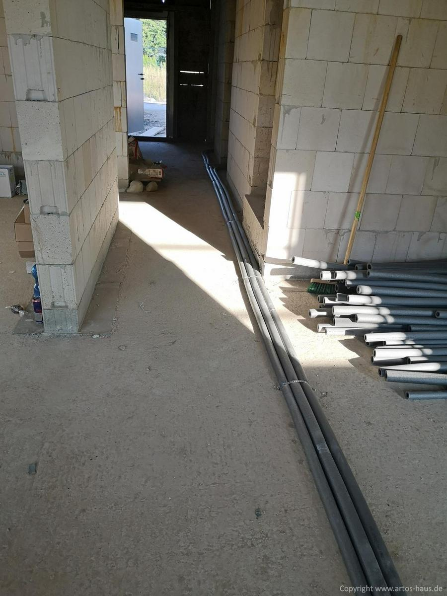 Artos-Haus Bauvorhaben EFH in Dormagen, Stand 9/21 Bild 9