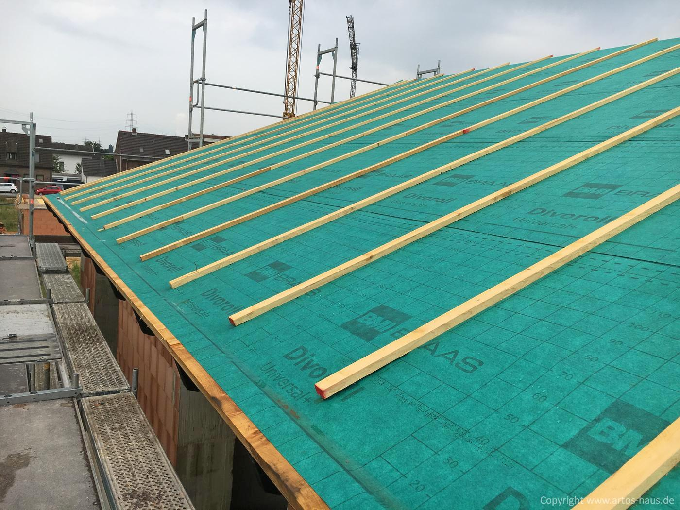 Dacheindeckung Bild 2