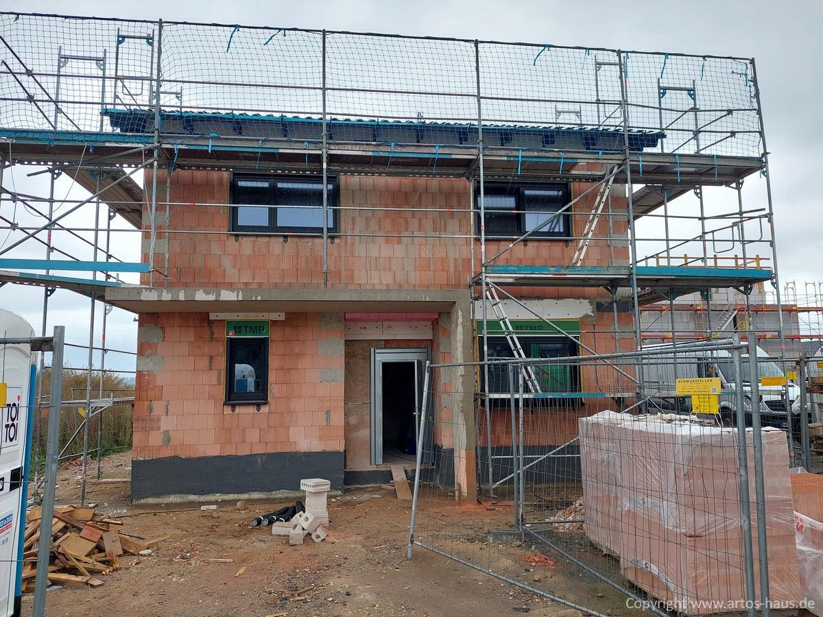 Artos Bauvorhaben EFH in Dormagen, Stand 9/21 Bild 1